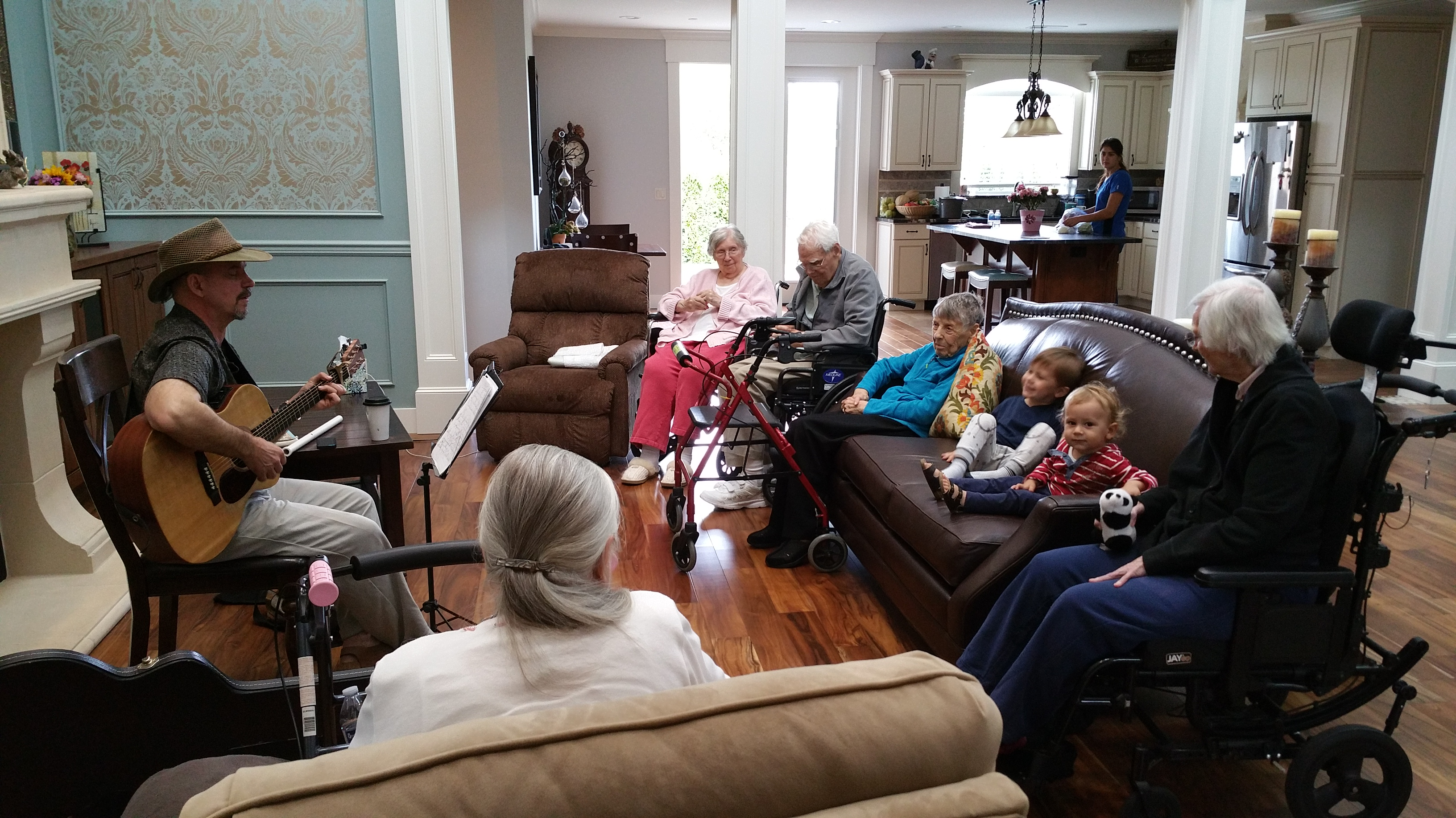 Activities Music Assisted Living