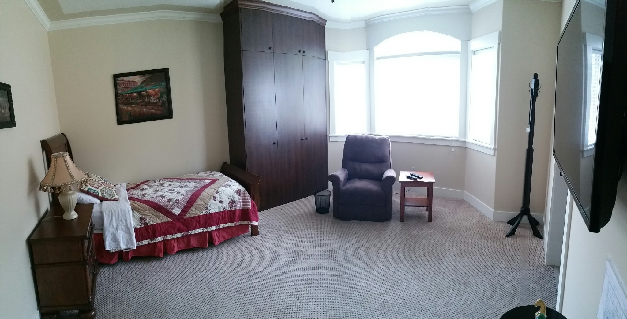 Cambridge Adult Family Home Resident  Bedroom