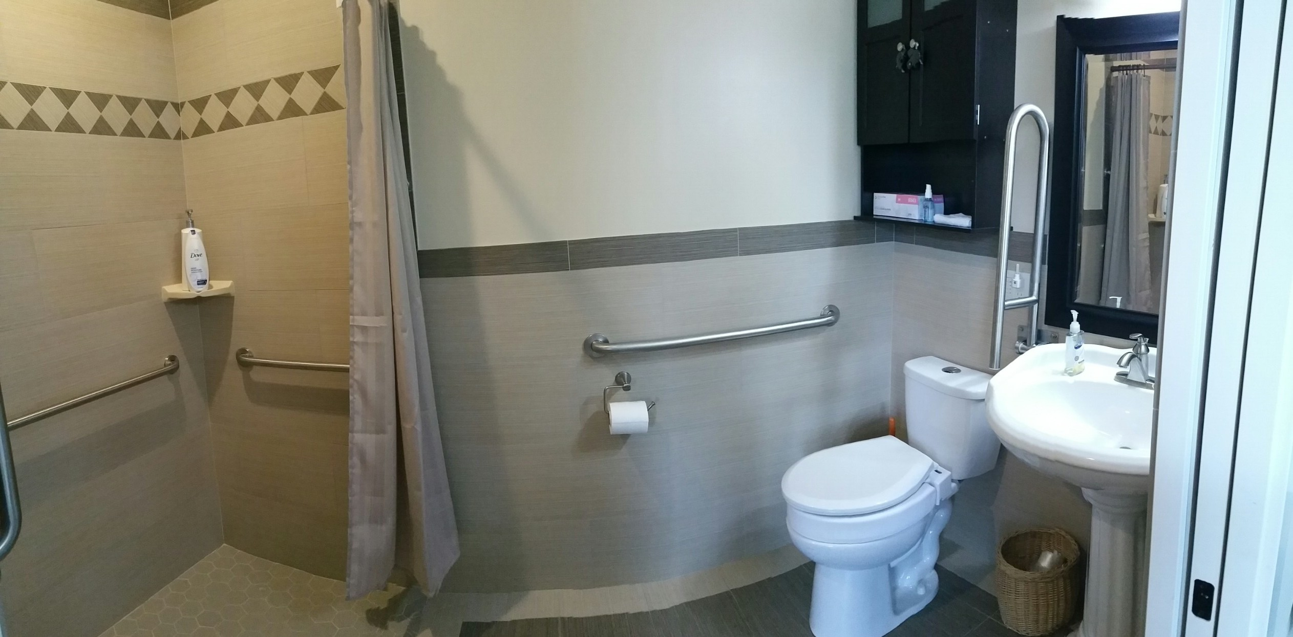 Cambridge Adult Family Home Resident  Bathroom