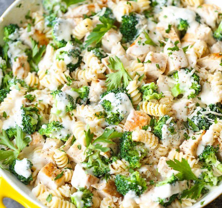 Sautéed Chicken Broccoli w/ Alfredo